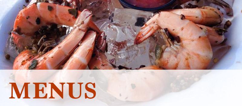 Shrimper's Grill Menus
